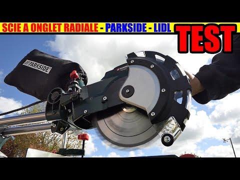 LIDL Scie à Onglet Radiale PARKSIDE PZKS 1500 TEST  Sliding Cross Cut Mitre Saw
