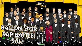 🌟Ballon d'Or 2017 RAP BATTLE🌟 Ronaldo! Messi! +28 more players!