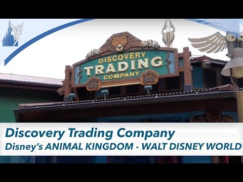 Discovery Trading Company TOUR   Animal Kingdom Shop   Walt Disney World 2017