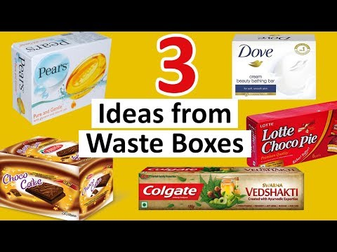 3 DIY Gift Box Making Ideas | Best Out of Waste Paper Gift Box | StylEnrich