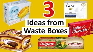 3 DIY Gift Box Making Ideas   Best Out of Waste Paper Gift Box   StylEnrich