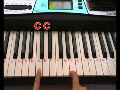 Tutorial How To Play Sweet Home Alabama On Keyboard Youtube