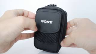 LCS-CSQ Sony Soft Carrying Case (shot on Samsung NX3000)