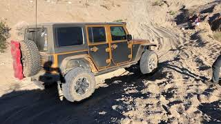 Weekend Jeep trip to Anza Borrego. We made our way in via Oriflamme...
