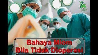 Operasi pengangkatan tumor jinak (miom) dari dalam tubuh seorang wanita.. #senangbisaberbagi Jangan .