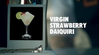 Virgin Strawberry Daiquiri Drink Recipe - How To Mix