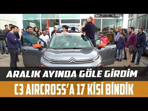 Citroen C3 Aircross'a 17 Kişi Bindik