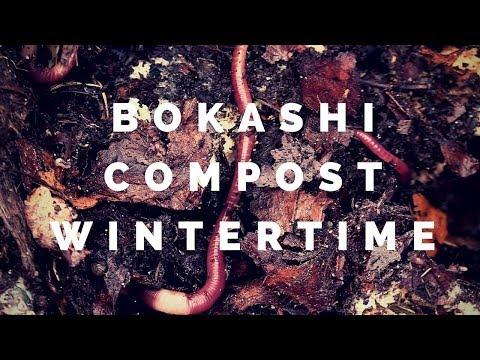 Bokashi compost during winter