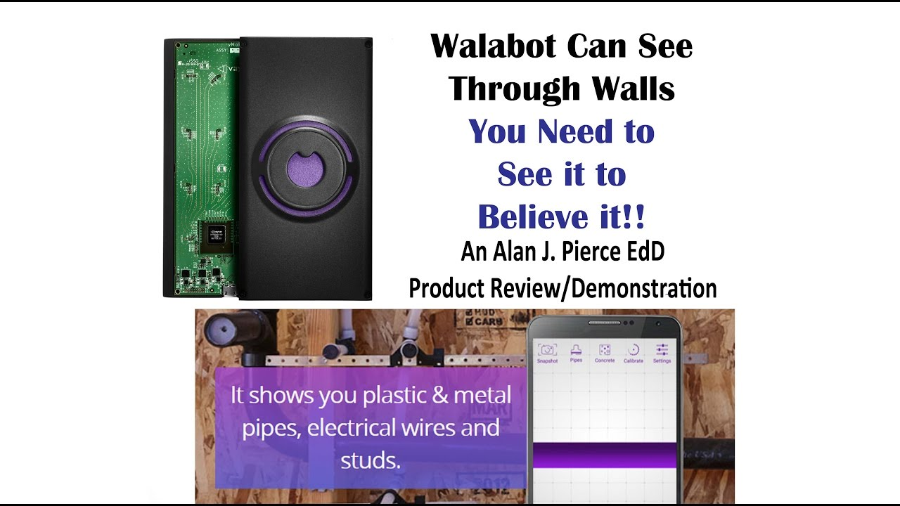 Walabot Can See Through Walls Youtube Wiring How To Fish Premium