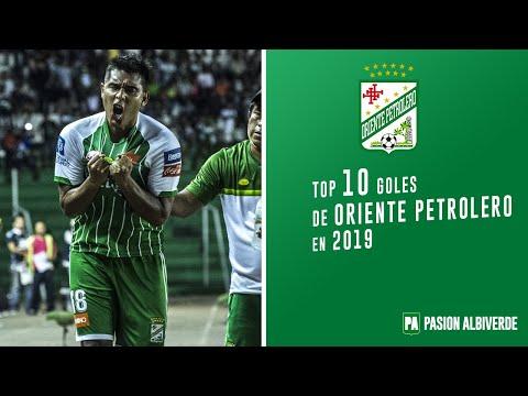Top 10 mejores goles de Oriente Petrolero en 2019