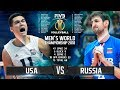 USA vs. Russia | Highlights | Final 6 Mens World Championship 2018