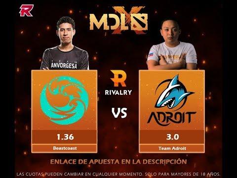 Beastcoast (Perú) vs. Adroit: MDL Chengdu Major - DOTA 2 [ES]