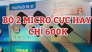 Micro không dây cực hay T11 chỉ 600k lh 0964.867.866 0364.791.604