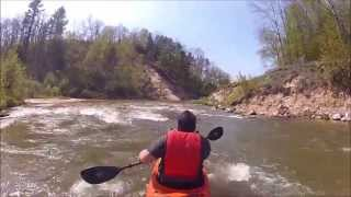 Kayaking the Pine River 5-18-2013
