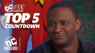 Arrow's David Ramsey on Season 8 + Crisis on Infinite Earths! | TOP 5 HEADLINES