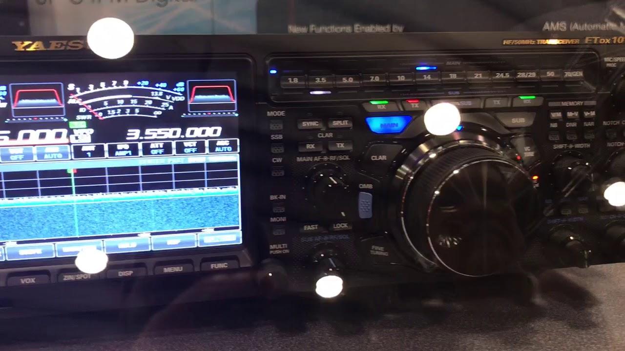 Yaesu FT-DX101D HF/50MHz 100W SDR Transceiver  GigaParts com