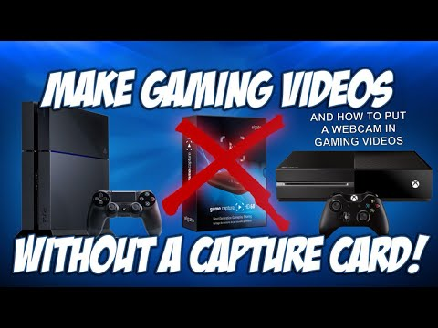 How to record gaming videos without a capture card and add webcam on iMovie