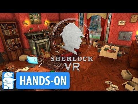 Sherlock VR on Daydream VR Gameplay / Hands-On