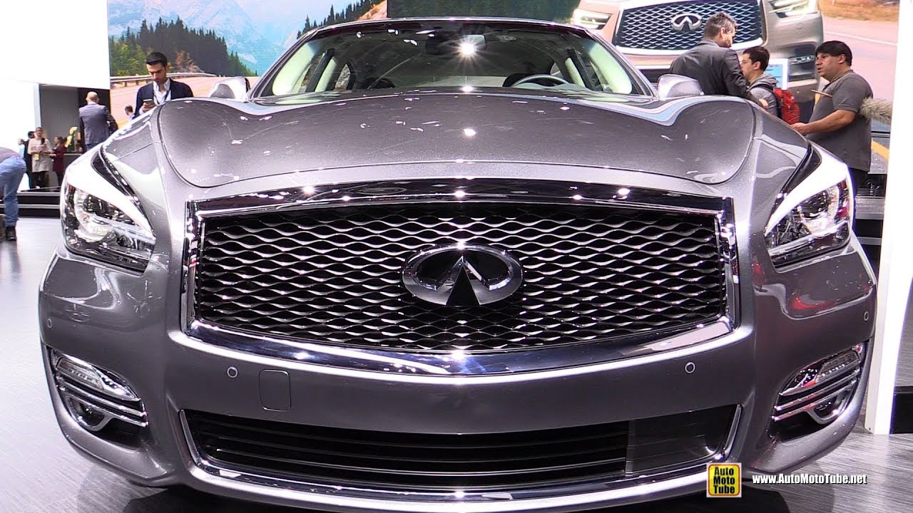 2018 Infiniti Q70 L Exterior And Interior Walkaround 2018 Detroit Auto Show