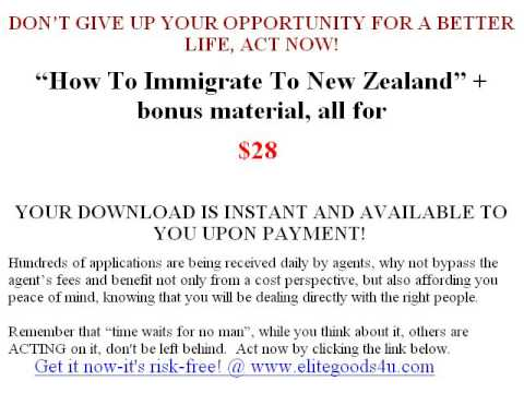 How to immigrate to new zealand no agent required do it yourself how to immigrate to new zealand no agent required do it yourself solutioingenieria Image collections