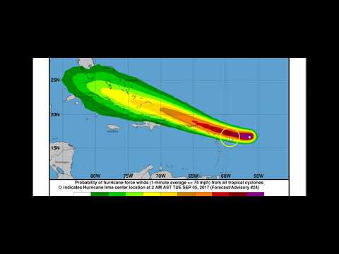 IRMA WINDS NOW 150 mph Tues Sept 5 2017 Morning update