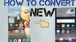 How to convert your phone like this Bro