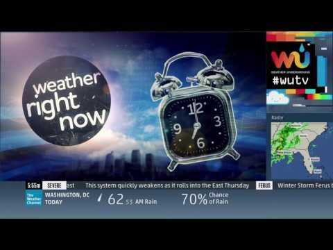 Weather Underground Broadcast Graphics