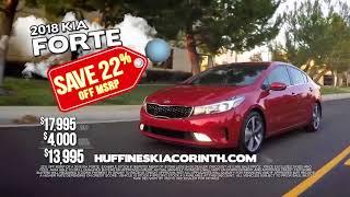 Huffines Kia Corinth Hail Sale 2018