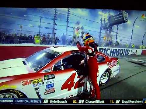 2017 Federated Auto Parts 400 - Kyle Larson Wins