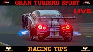 GT Sport - Live Racing Tips & Commentary (Brake Balance/Defending/Dive Bombing)