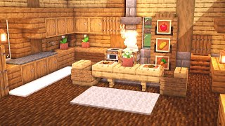 Minecraft: How to Build a Large Kitchen Design Tutorial YouTube