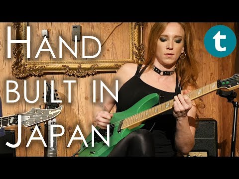 Let's play Caparison Guitars | Courtney Cox | The Iron Maidens