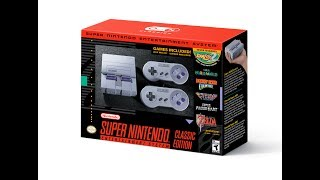 Super Nintendo Classic Edition Revealed! Comes with Star Fox 2! + 21 Games!