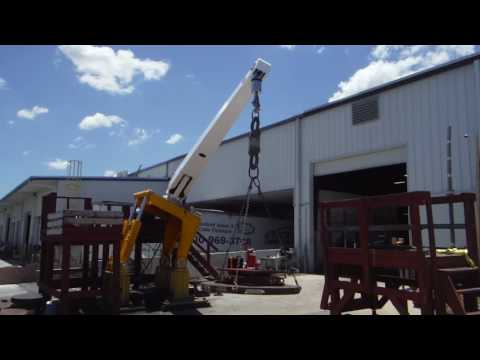 Nautical Stuctures Deck Crane Testing