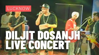 Jappy Bajaj Performing Live at Diljit Dosanjh Live Concert at Chancellor's Club, Lucknow