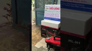 Tặng bình bọt tuyết Máy rửa xe haloshi thailand máy đẹp nhỏ gọn chất lượng hàng đầu