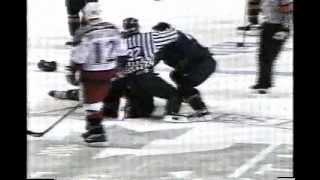 ahl grand rapids utah hockey fight darryl bootland vs zenon konopka 3 26 04
