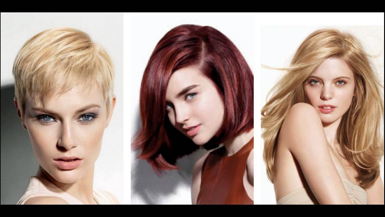 Best Hair Color Ideas For Thin Hair Or Fine Hair - YouTube