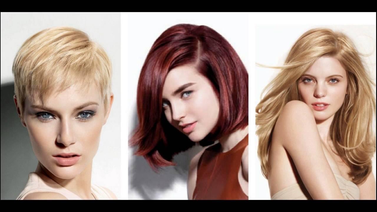 Best Hair Color Ideas For Thin Hair Or Fine Hair - YouTube