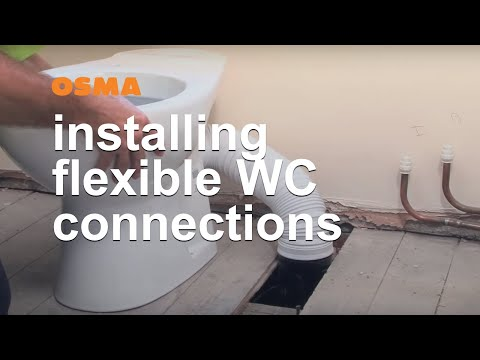 Flexible WC Connections - OSMA Soil & Waste