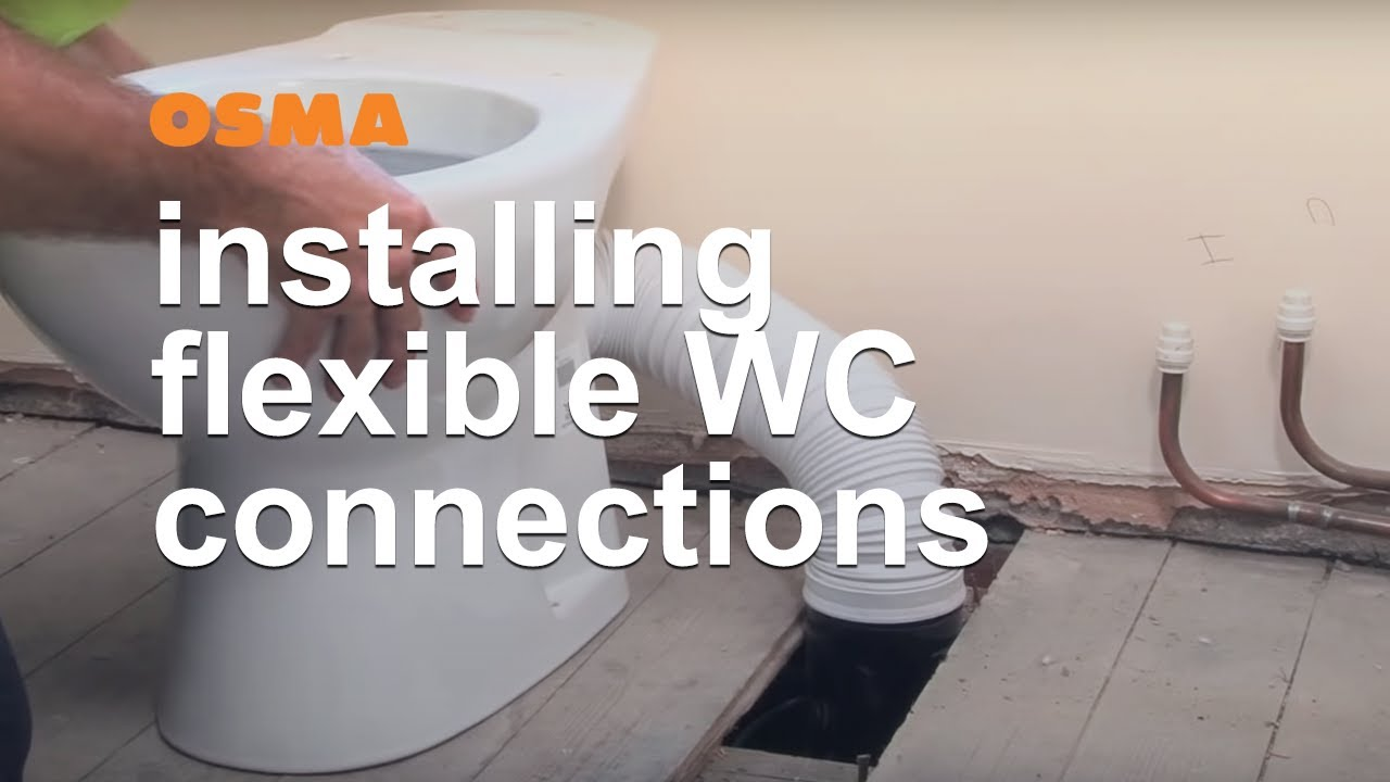 Connect Wc Flexible Wc Connections Osma Soil Waste