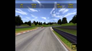 Super Truck Racer Wii Gameplay