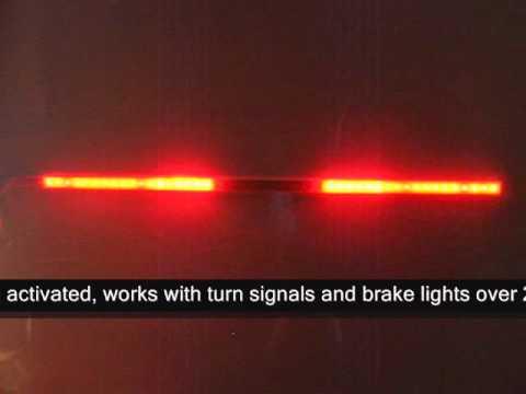 20 Inch Led Light Bar >> Multi Function LED Light Bar - YouTube