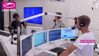 Cosmic Gate ASOT 829 Interview Wiht Armin Van Buuren