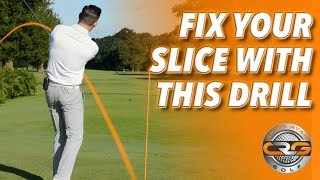 FIX YOUR SLICE WITH THIS DRILL