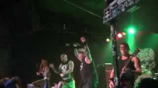 Extreme Noise Terror live at the Launchpad Albuquerque, NM 2015 pt.1