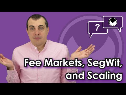 Bitcoin Q&A: Fee markets, SegWit, and scaling