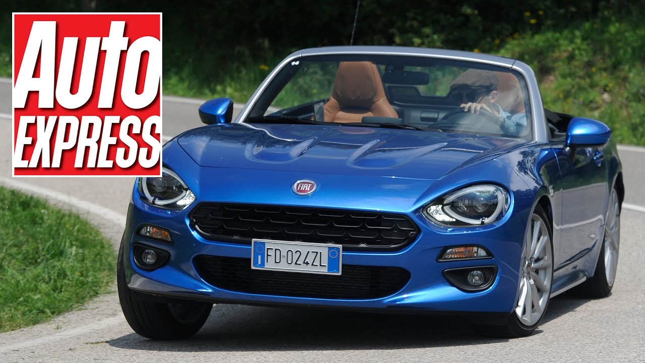 Fiat 124 Spider Review: Is It A True Italian Sports Car?   YouTube