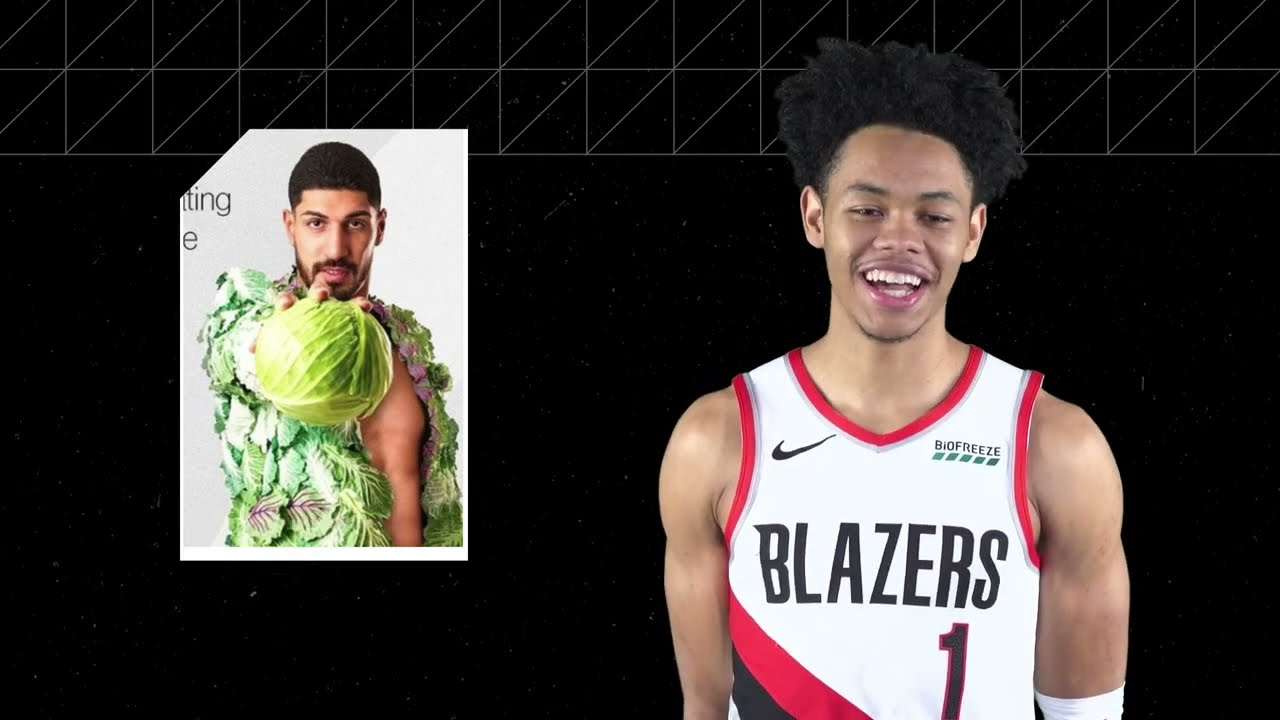 Enes, RoCo, and Nurk get their IGs roasted | Hashtag This | Trail Blazers