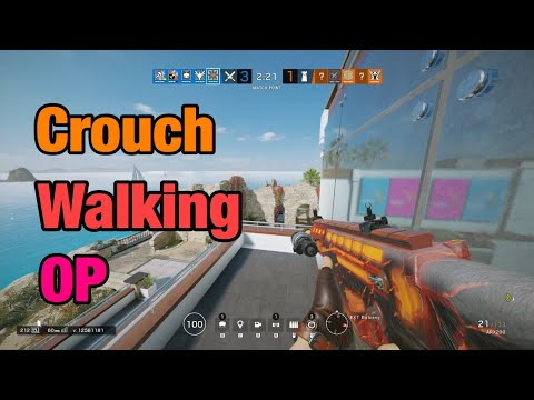 Crouch Walking OP - Rainbow Six Siege